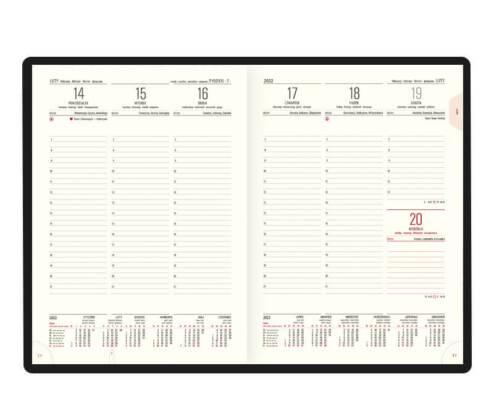 Kalendarz książkowy A-4 CLASSIC