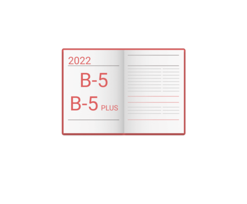 Kalendarz wg. formatu B-5 i B-5 Plus