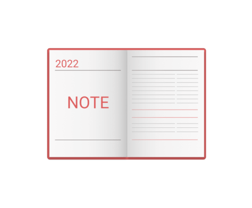 Kalendarze wg. typu - note