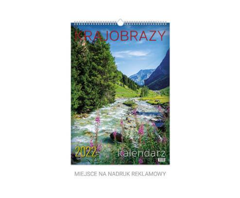 kalendarz plakatowy krajobrazy telegraph